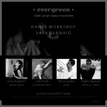 Evergreen. Dance workshop a Catania con Marco Laudani, Luke Brown e Greta Bragantini