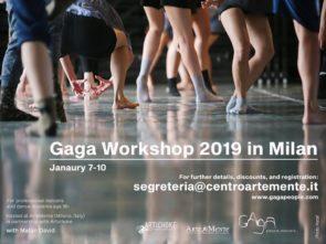 Gaga Workshop 2019 a Milano