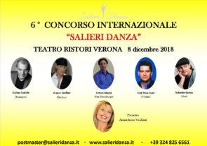 Salieri Danza International Ballet Competition 2018