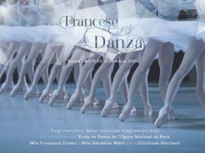 Stage di danza classica per allievi e insegnanti con i Professori dell'École de Danse dell'Opéra di Parigi dal 28 al 30 dicembre 2018 a Roma