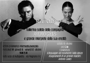 Stage di flamenco e danza spagnola per bambini con Maria Nadal
