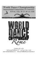 Concorso internazionale per scuole di danza WDC 2018