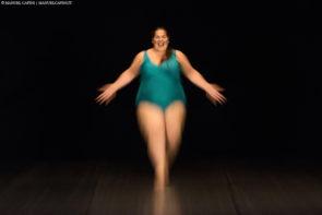 Claudia Marsicano in R.Osa di Silvia Gribaudi per Danza al Ridotto del Comunale di Vicenza