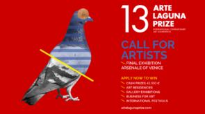 Bando Arte Laguna Prize 2018/2019. Concorso di pittura, scultura e installazione, arte fotografica, video arte e animazione, performing art.