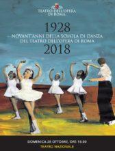 La Scuola di danza del Teatro dell'Opera di Roma festeggia i suoi 90 anni con un Gala al Teatro Nazionale