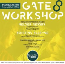 Gate 8 Workshop. Performance project con Helder Seabrae con Kristina Alleyne. Open Call