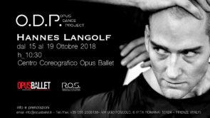 Stage di danza contemporanea con Hannes Langolf per O.D.P. Opus Dance Project