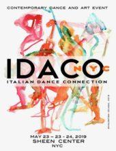 IDACO nyc 2019. Call internazionale per coreografi e artisti (New York)