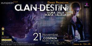 A Cosenza debutta Clan-destini di Kikko Alfeo