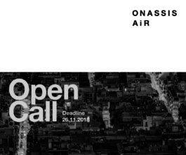 Onassis AiR (Artisti-in-Residenza) 2019/20. Open Call (Grecia)