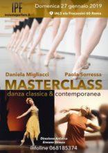 Masterclass danza classica contemporanea con Daniela Migliacci e Paola Sorressa