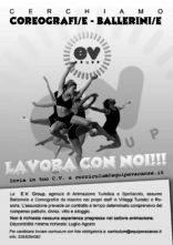 E.V. GROUP seleziona e assume 80 ballerini e ballerine e 8 coreografi per villaggi turistici