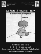 Gli allievi del Liceo coreutico Suor Orsola Benincasa ne La boîte à joujoux 2019 di Edmondo Tucci al Conservatorio di Napoli San Pietro a Majella