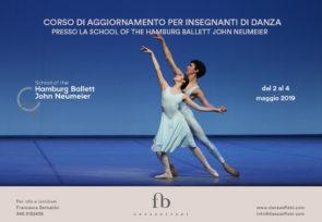 School of the Hamburg Ballett John Neumeier. Corso di aggiornamento per insegnanti di danza presso la Scuola del Balletto di Amburgo dal 2 al 4 maggio 2019