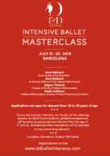 D&D Summer Intensive Ballet Masterclass a Barcellona
