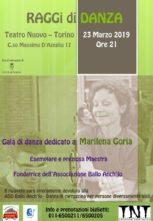 Gala in ricordo di Marilena Goria al Teatro Nuovo di Torino