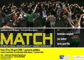 MATCH international contemporary dance workshop