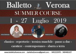 Summer Course Balletto di Verona 2019