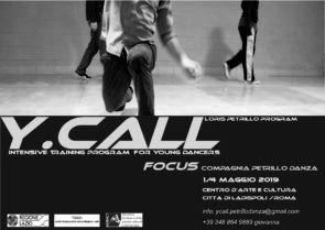 Y.CALL intensive training program for young dancers