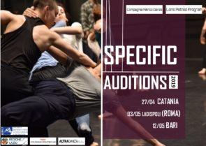Audizioni SPECIFIC | corso di perfezionamento di Compagnia Petrillo Danza