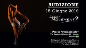 Audizione compagnia Lost Movement per danzatori e danzatrici