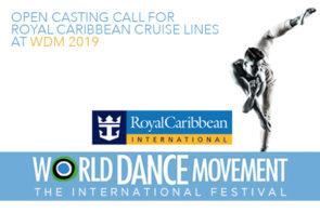 Audizioni di Royal Caribbean al World Dance Movement ITALIA – The International Festival