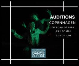 Audizione Copenhagen Contemporary Dance School