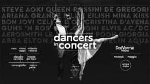 Dancers In Concert con la Gaga Symphony Orchestra, Virna Toppi, Claudio Coviello, Vittoria Valerio e Nicola Del Freo