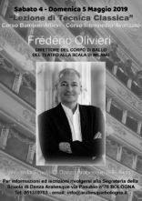 Lezione di tecnica classica con Frédéric Olivieri a Bologna