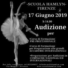 Scuola Hamlyn: audizione per corso formazione pre-professionale 2019/2020