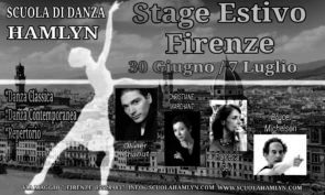 Scuola di danza Hamlyn: stage estivo a Firenze