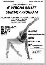 Verona Ballet Summer Program 2019