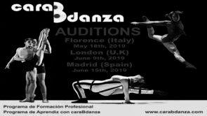Audizione caraBdanza Contemporary Dance Company per il suo programma di studi professionali di danza contemporanea e apprendistato