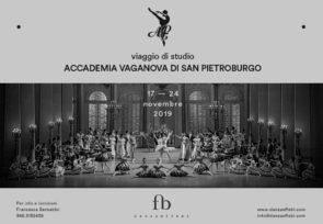 Accademia Vaganova di San Pietroburgo. Viaggio di studio dal 17 al 24 novembre 2019