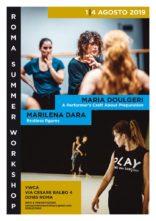 Roma Summer Workshop 2019 con Marilena Dara e Maria Doulgeri