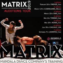 Audizioni per MATRIX 2019, il Training Program di Mandala Dance Company