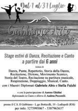 Il Gabbiano Arte Estate. Stage di danza, canto e recitazione