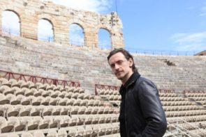 Sergei Polunin e Alina Cojocaru in Romeo & Giulietta di Johan Kobborg all'Arena di Verona per il Festival della Bellezza
