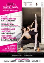 Genova In Danza 2019. Stage, audizioni, concorso e seminario per insegnanti al Teatro Carlo Felice di Genova