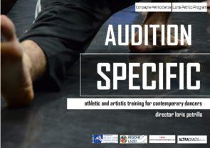 Audizione SPECIFIC   corso di perfezionamento Compagnia Petrillo Danza