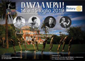 A Genova stage gratuito con Sabrina Brazzo e Andrea Volpintesta, Giorgio Azzone e Damiano Bisozzi