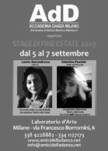 Stage di danza a Milano