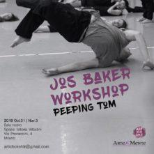 Workshop con Jos Baker, collettivo Peeping Tom