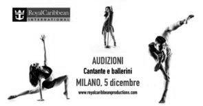 Audizione Royal Caribbean Productions per ballerini e ballerine per navi crociera