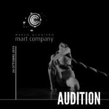 Audizione compagnia Marco Auggiero Mart Company per danzatori e danzatrici