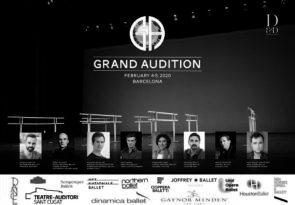 Grand Audition 2020. A Barcellona tanti direttori in un'unica audizione per ballerine e ballerini tra i 17 e i 26 anni.