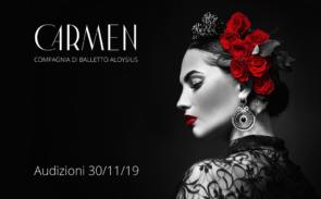 Audizione Compagnia di Balletto Aloysius per ballerini e ballerine per il balletto Carmen