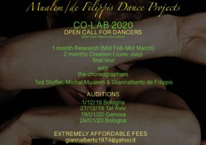 CO-LAB 2020. Open call for dancers