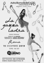 Astra Roma Ballet ne La gazza ladra di Paolo Arcangeli al Teatro Quirino di Roma