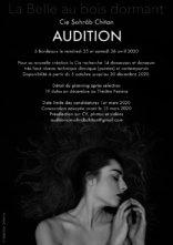 Audizione Compagnie Sohrâb Chitan per ballerine e ballerini per La Bella Addormentata nel bosco (Francia)